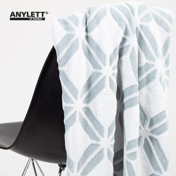 Mikrofiber plaid - Arctic & Nordisk Tekstil