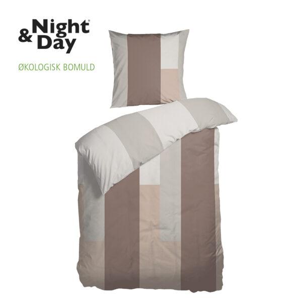 Økologisk sengesæt Futura fra Night & Day